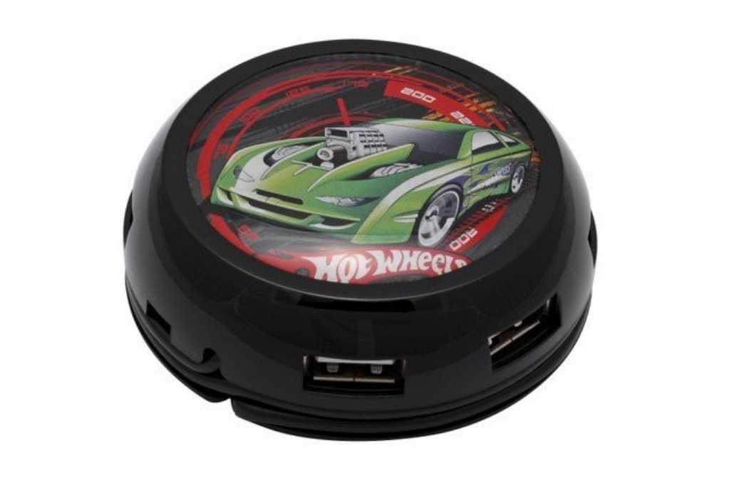 Modecom UFO TURBO HOT WHEELS USB 7-PORTOWY