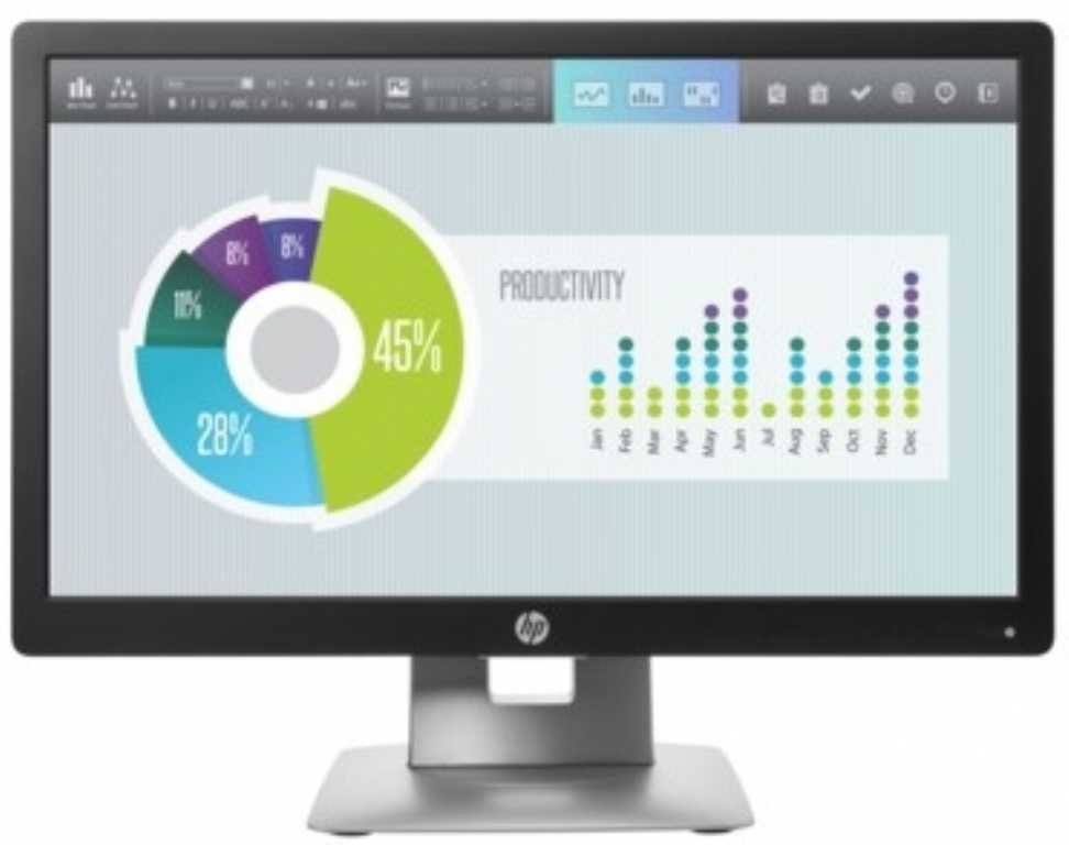 Hp EliteDisplay E202 M1F41AA Monitor
