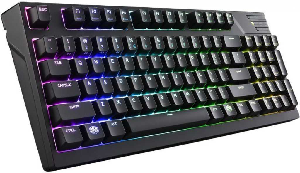 Cooler master MasterKeys Pro M Cherry MX Red RGB LED (SGK-6040-KKCR1-US) Klawiatura