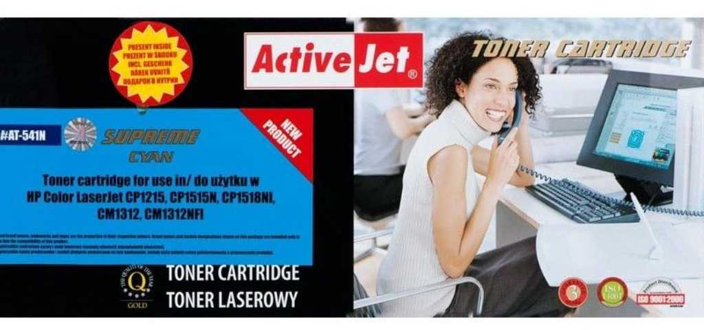 Activejet AT-541N Niebieski Toner