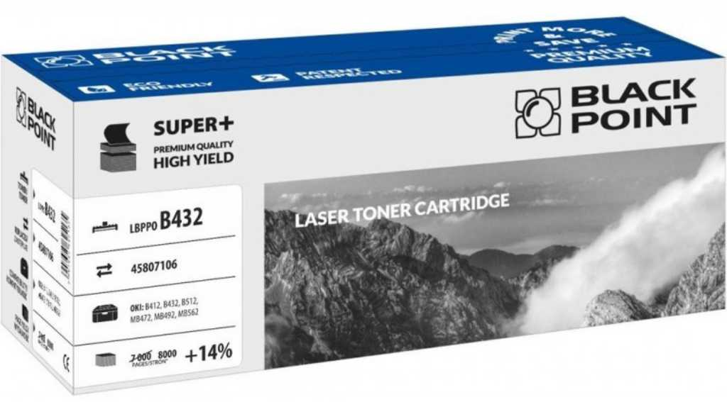Blackpoint 45807106 Toner