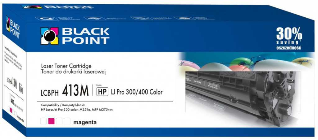 Blackpoint LCBPH413M Fioletowy Toner