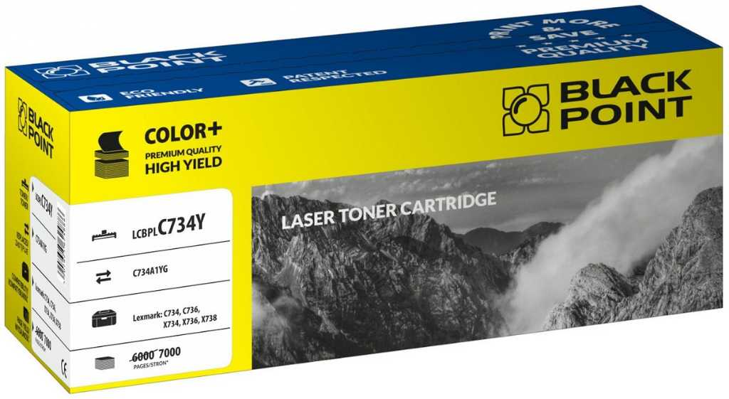 Blackpoint LCBPLC734Y Toner