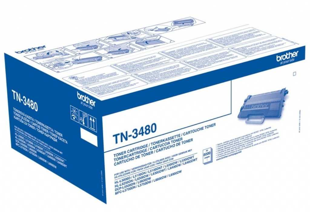 Brother TN-3480 Czarny Toner