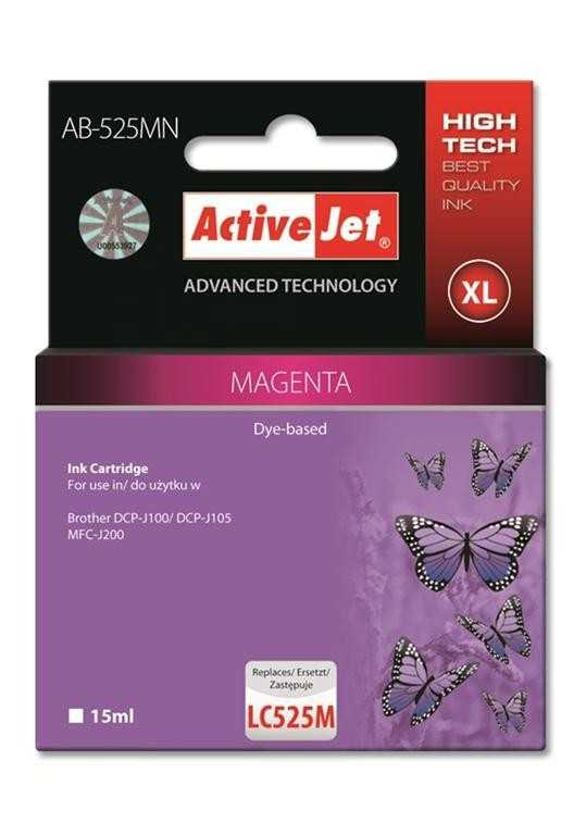 Activejet ACTIVEJET AB-525MN MAGENTA Tusz