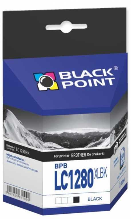 Blackpoint BPBLC1280XLBK Brother LC1280BK Czarny Tusz