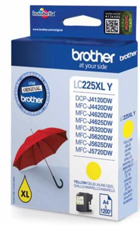 Brother LC-225XLY Tusz