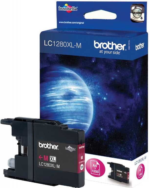 Brother LC1280XL-M MAGENTA Tusz