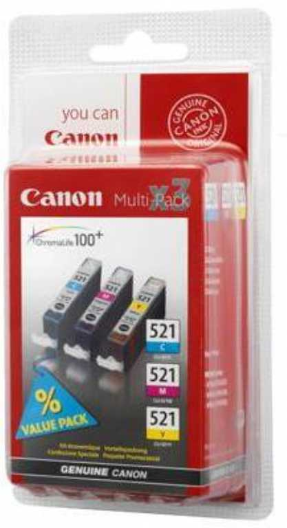 Canon 521 PACK Tusz