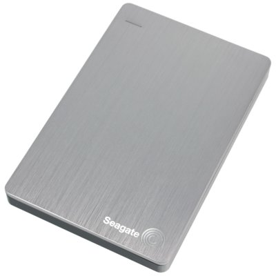 Dysk SEAGATE Backup Plus Slim Portable Drive 2 TB Srebrny