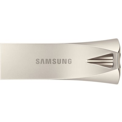Pamięć USB SAMSUNG BAR Plus 32GB Champaign USB 3.1 MUF-32BE3/EU Srebrny