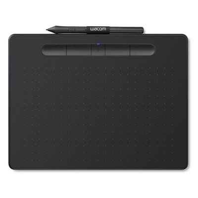 Tablet graficzny WACOM Intuos M Pen and Bluetooth Czarny CTL-6100WLK-N