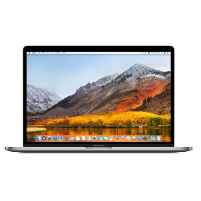 Laptop APPLE MacBook Pro 15.4 z Touch Bar i7 2.2GHz/16GB/256GB SSD/555X/MacOS Gwiezdna szarość MR932ZE/A