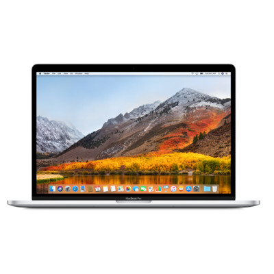 Laptop APPLE MacBook Pro 15.4 z Touch Bar i7 2.6GHz/16GB/512GB SSD/560X/MacOS Srebrny MR972ZE/A