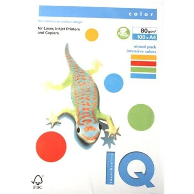 Papier MONDI IQ Color Mix Intensywny 80g A4