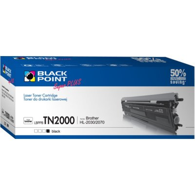 Toner BLACK POINT LBPPBTN2000 Zamiennik Brother TN-2000