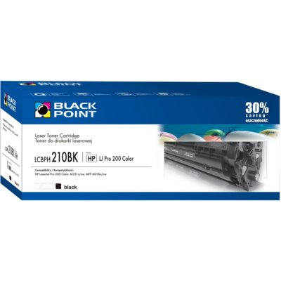 Toner BLACK POINT LCBPH210BK Zamiennik HP CF210A
