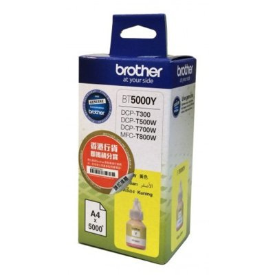 Butelka z atramentem BROTHER BT5000Y