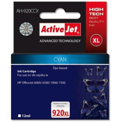 Tusz ACTIVEJET AH-920CCX Zamiennik HP 920XL CD972AE