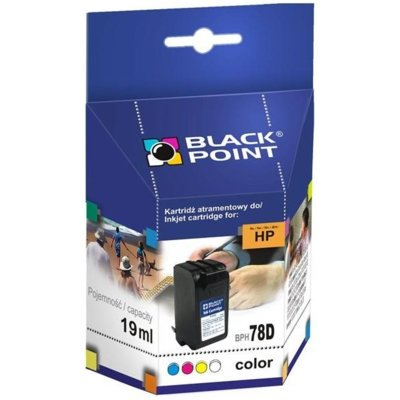 Tusz BLACK POINT BPH78D Zamiennik HP C6578D