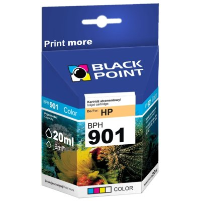 Tusz BLACK POINT BPH901Color Zamiennik HP CC656AE