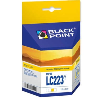 Tusz BLACK POINT BPBLC223Y Zamiennik Brother LC223Y