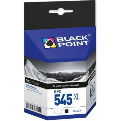 Tusz BLACK POINT BPC545XL Zamiennik Canon PG-545XL