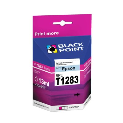 Tusz BLACK POINT BPET1283 Zamiennik Epson C13T12834010