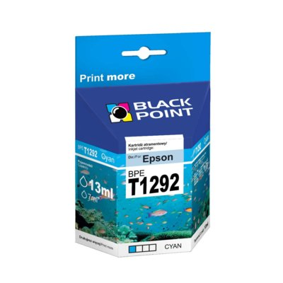Tusz BLACK POINT BPET1292 Zamiennik Epson C13T12924010