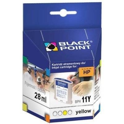 Tusz BLACK POINT BPH11Y Zamiennik HP C4838