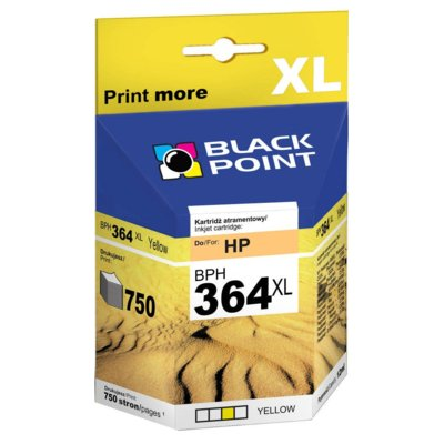 Tusz BLACK POINT BPH364YXL Yellow Zamiennik HP CB325EE