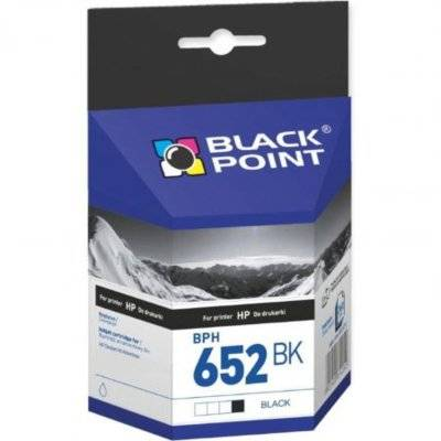 Tusz BLACK POINT BPH652BK Zamiennik HP F6V25AE