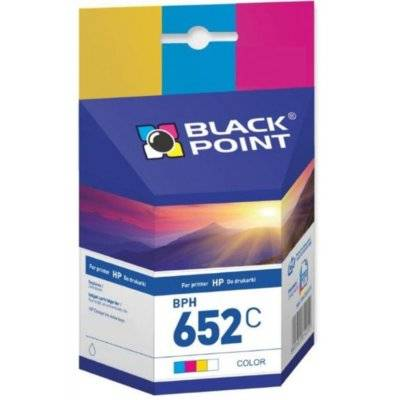 Tusz BLACK POINT BPH652C Zamiennik HP F6V24AE