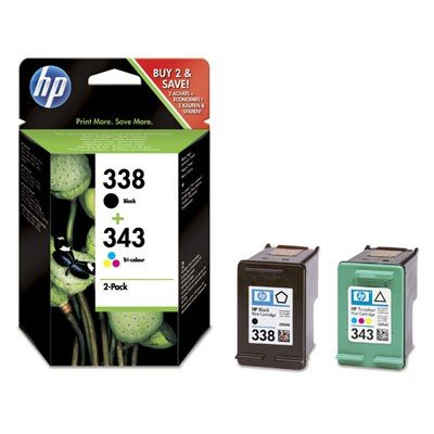 Tusz HP Combo Pack HP 338/343