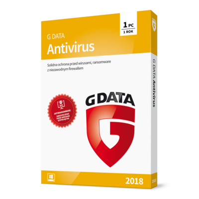 Program G DATA Antivirus 2018 (1 PC, 1 rok)