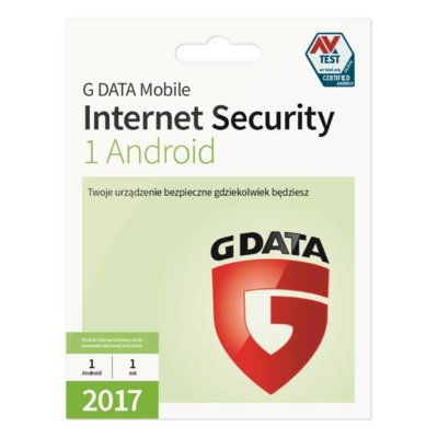 Program G DATA Mobile Internet Security (1 Android, 1 rok)