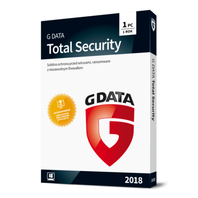 Program G DATA Total Security 2018 (1 PC, 1 rok)