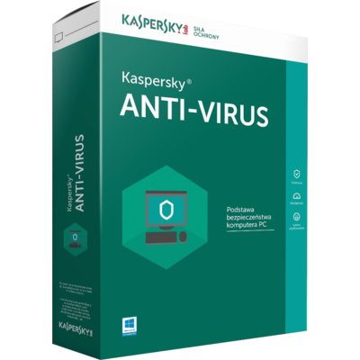 Program Kaspersky Anti-Virus (1 PC, 1 rok)