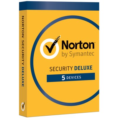 Program Norton Security Deluxe (5 urządzeń, 1 rok)