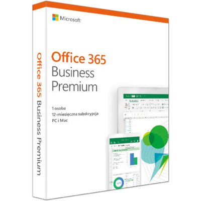 Program Microsoft Office 365 Business Premium PL Win/Mac