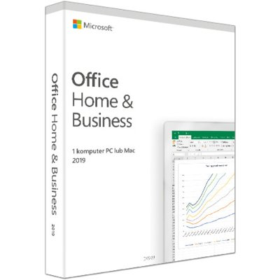 Program Microsoft Office Home and Business 2019 PL Box Win/Mac 32/64bit