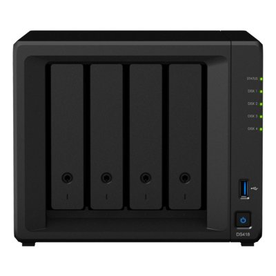 Serwer NAS SYNOLOGY DiskStation DS418play
