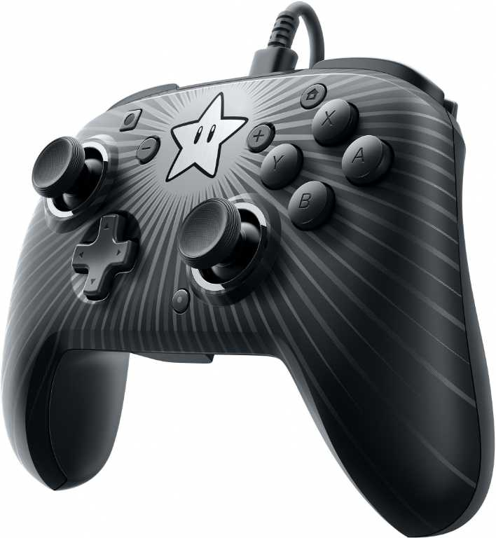Pdp Faceoff Wired Pro Star Mario