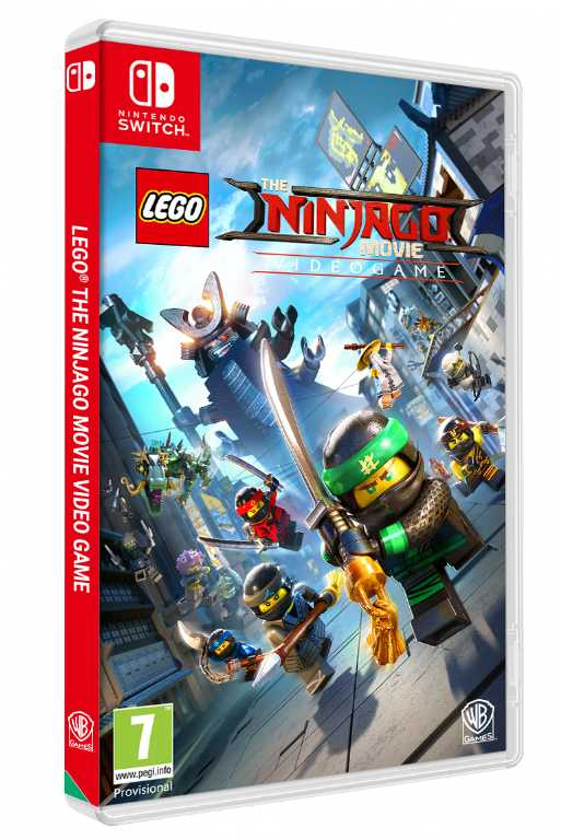 Cenega Lego Ninjago Movie