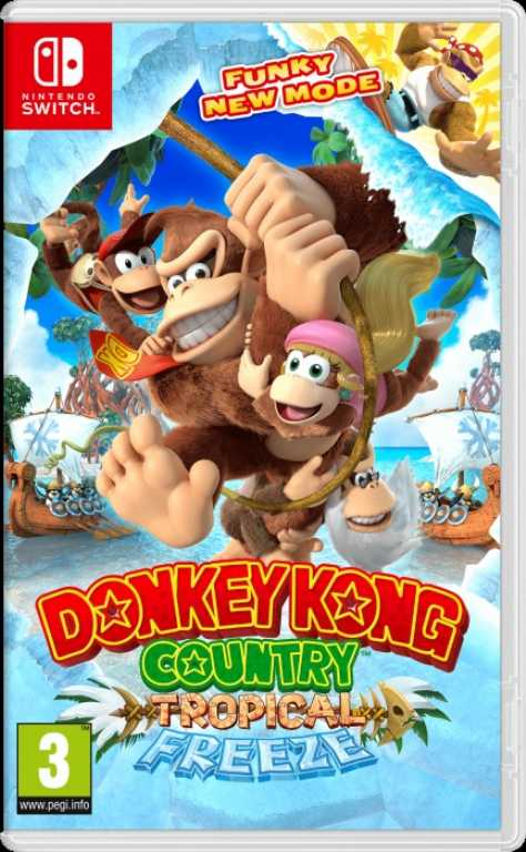 Nintendo Donkey Kong Country Freeze