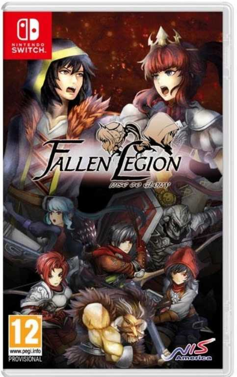 Nintendo Fallen Legion: Rise to Glory