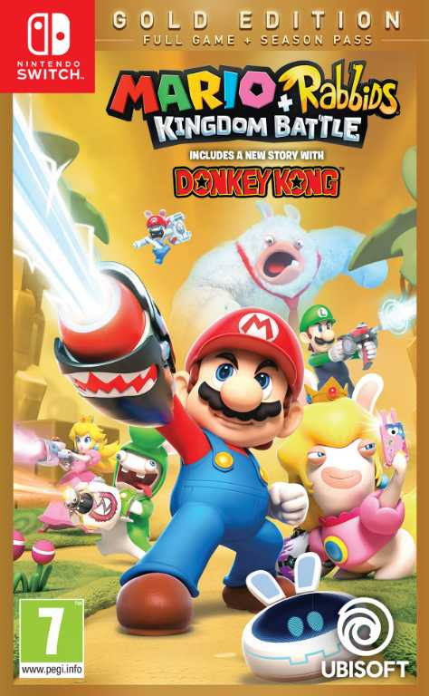 Ubisoft Mario Rabbids Kingdom Battle - Edycja Gold