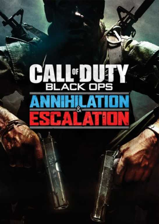 Muve Call of Duty Black Ops Annihilation & Escalation Kod aktywacyjny