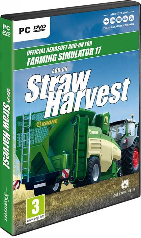 Cdp Farming Simulator 2017 Straw Harvest Gra PC