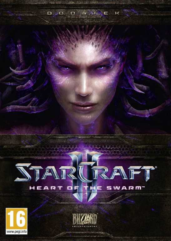 Cdp STARCRAFT II: HEART OF THE SWARM Gra PC